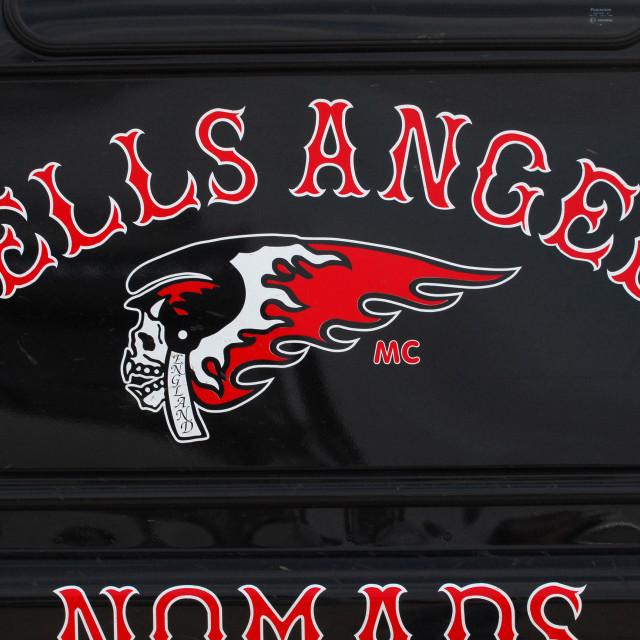 """Hells Angels Logo"" stock image"