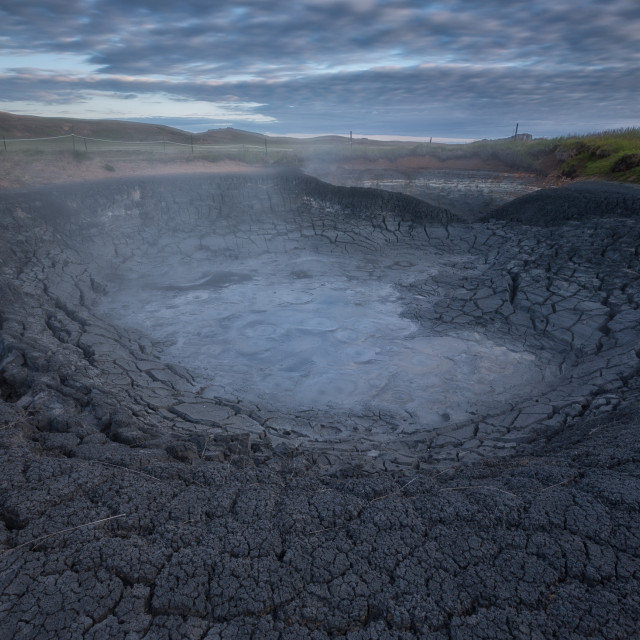 """boiling earth"" stock image"