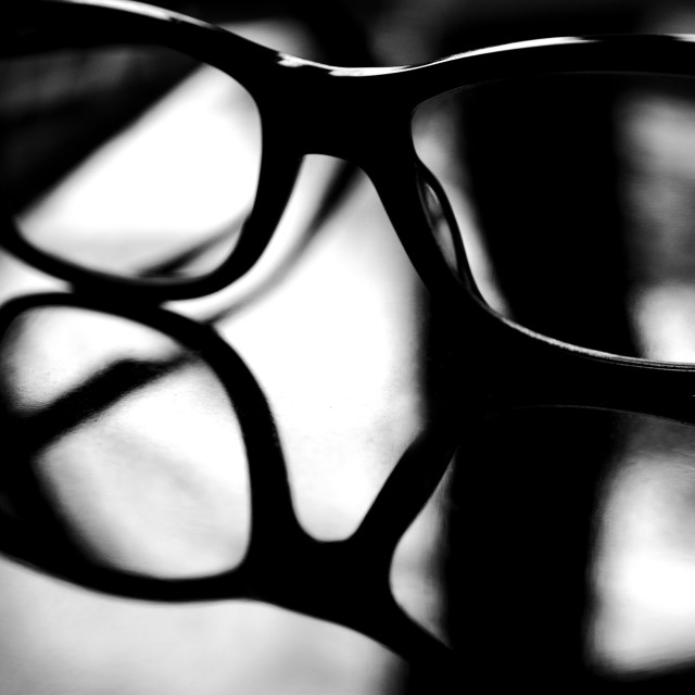 """""""The moody glasses"""" stock image"""