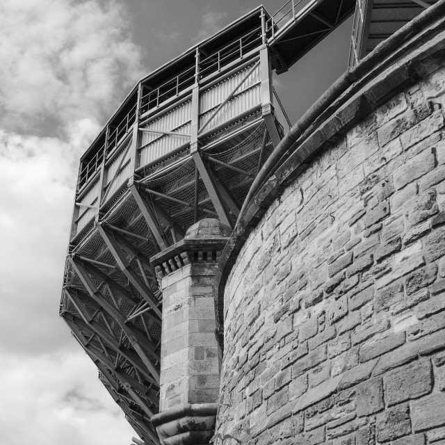 """Edinburgh Castle Tattoo"" stock image"