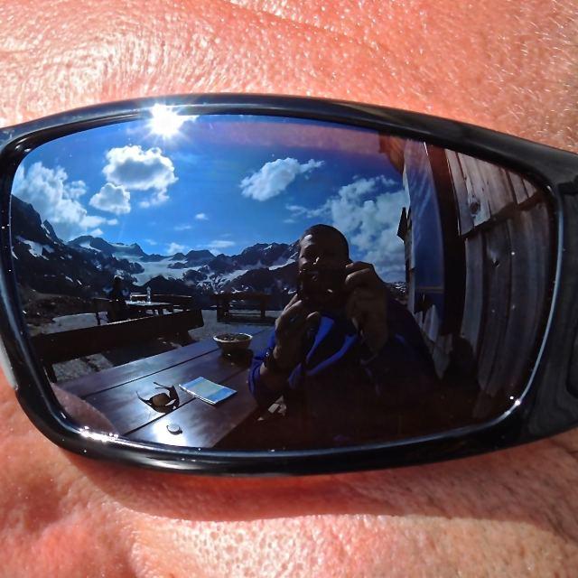 """Panorama sugli occhiali"" stock image"