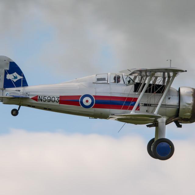 """Gloster Gladiator Mk2 N5903"" stock image"