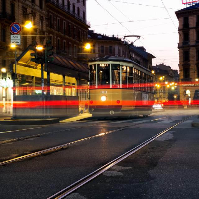 """""""Milano - p.zza Cadorna"""" stock image"""