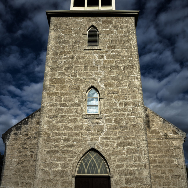 """Haunted Church"" stock image"