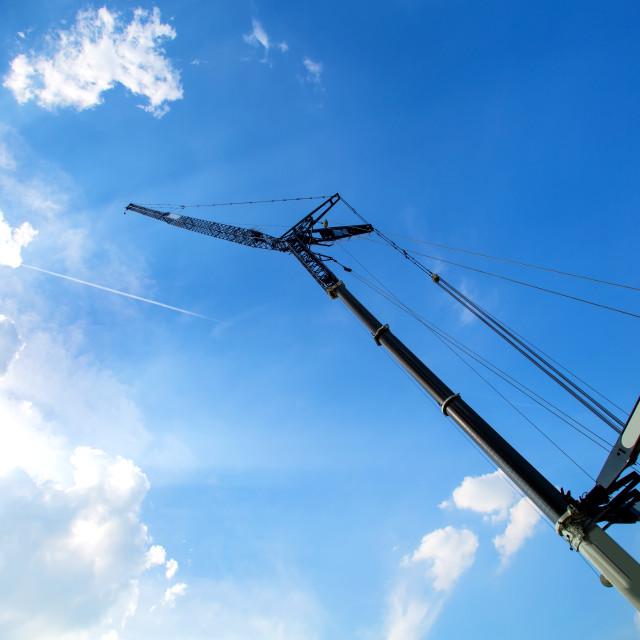 """""""Crane"""" stock image"""