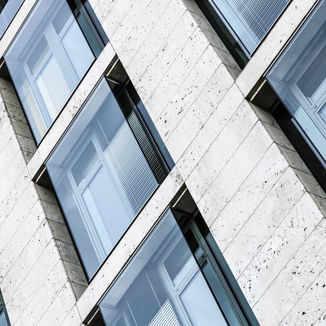 """""""Skyscrapers Facade"""" stock image"""