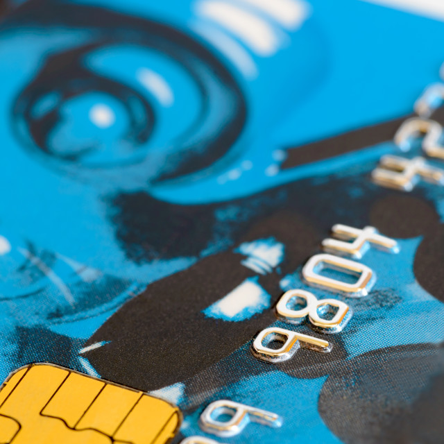 """Credit Card Detail"" stock image"