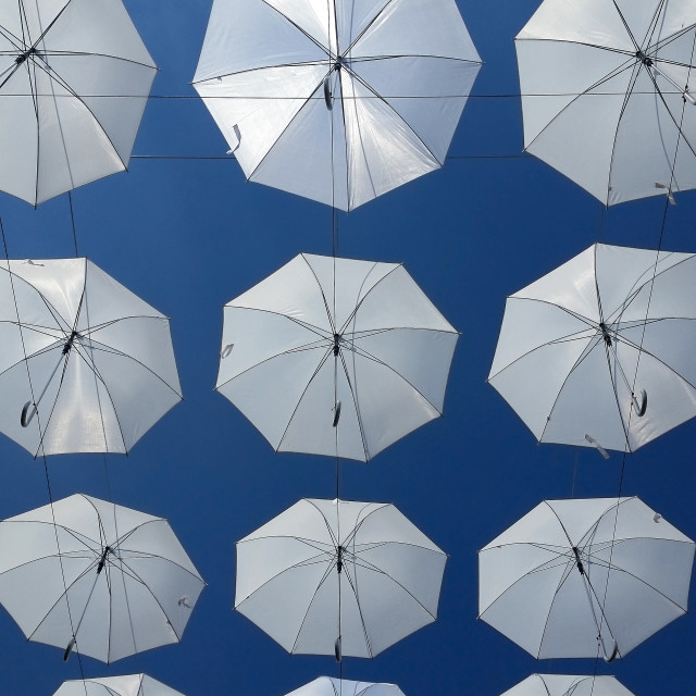 """Umbrellas"" stock image"