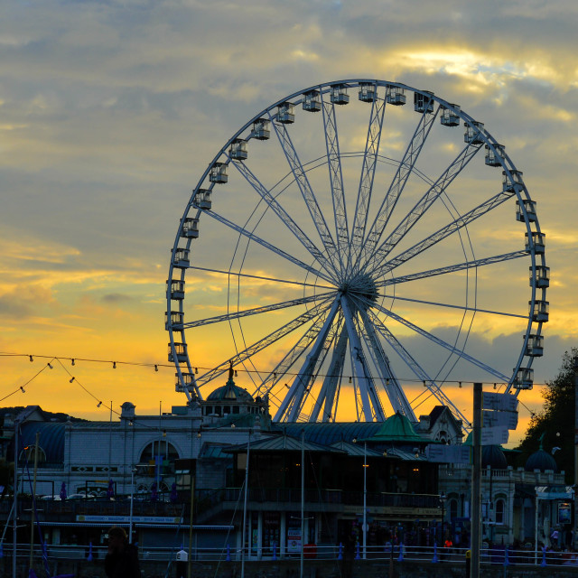 """Evening Wheel"" stock image"