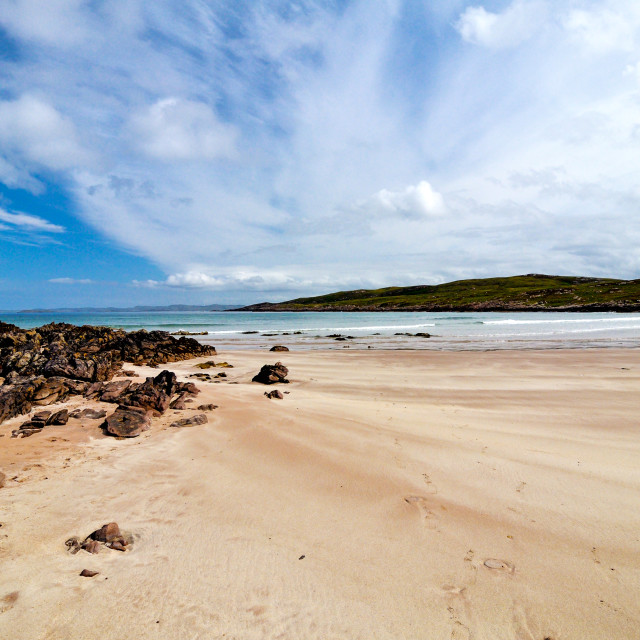 """scotland beach"" stock image"