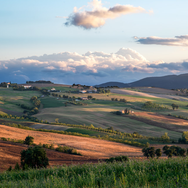 """""""Italy - Marche"""" stock image"""