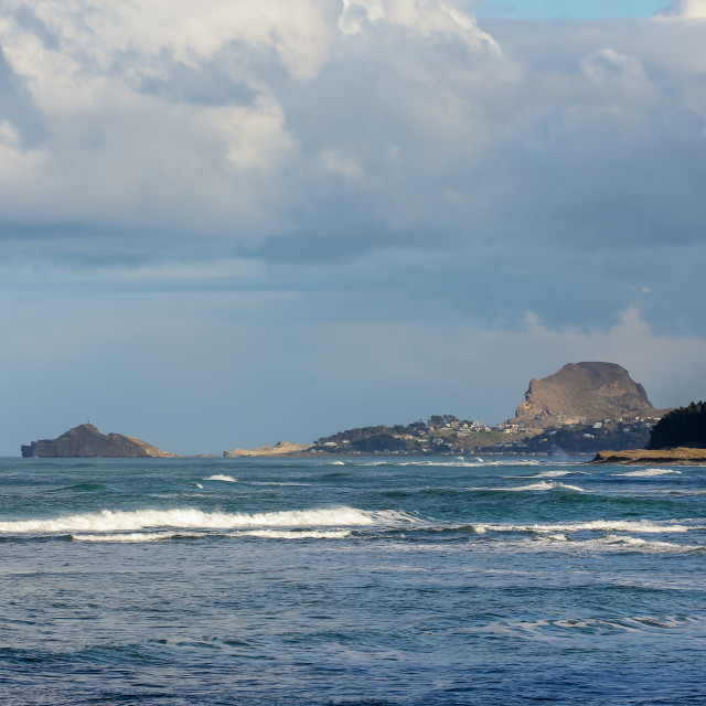 """Castlepoint seascape"" stock image"