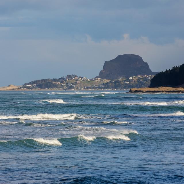 """Castlepoint seascape 2"" stock image"