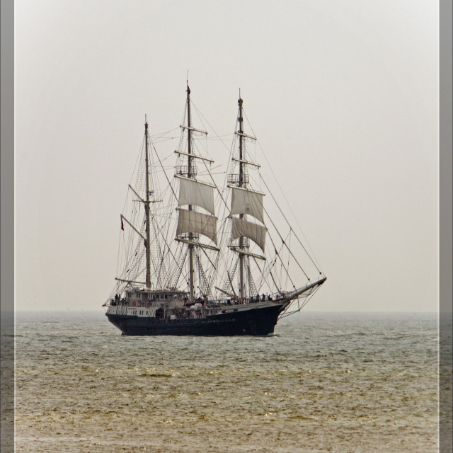 """Tall Ship (Tenacious) (I)"" stock image"