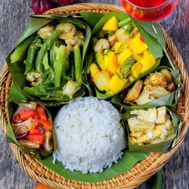 """Kadazan Dusun Food-North Borneo Food"" stock image"