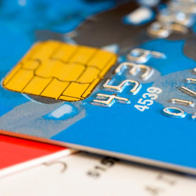 """Credit Card Detail"" stock image"