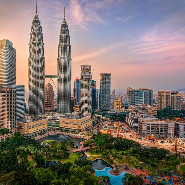 """""""KLCC Malaysia"""" stock image"""