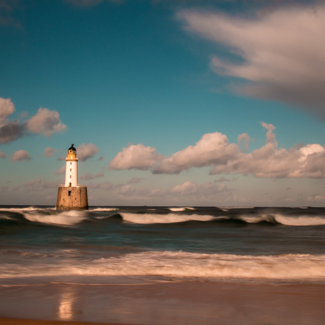 """""""Rattray Lighthouse"""" stock image"""
