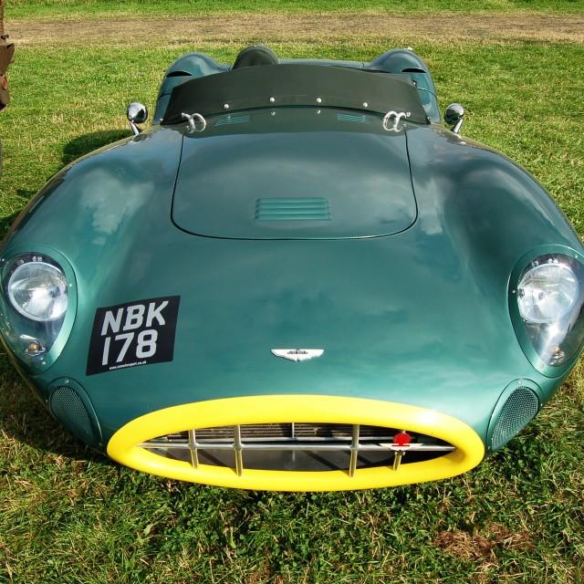 """Aston Martin DBR2"" stock image"