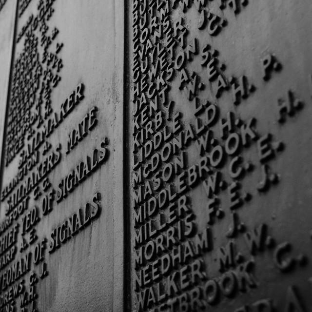 """""""Southsea War Memorial"""" stock image"""