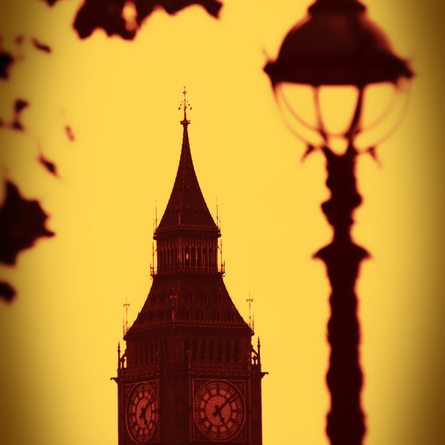 """St. Stephens Tower, Westminster, London"" stock image"