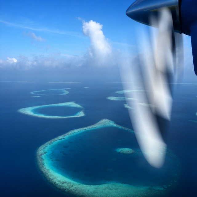 """The Maldives"" stock image"