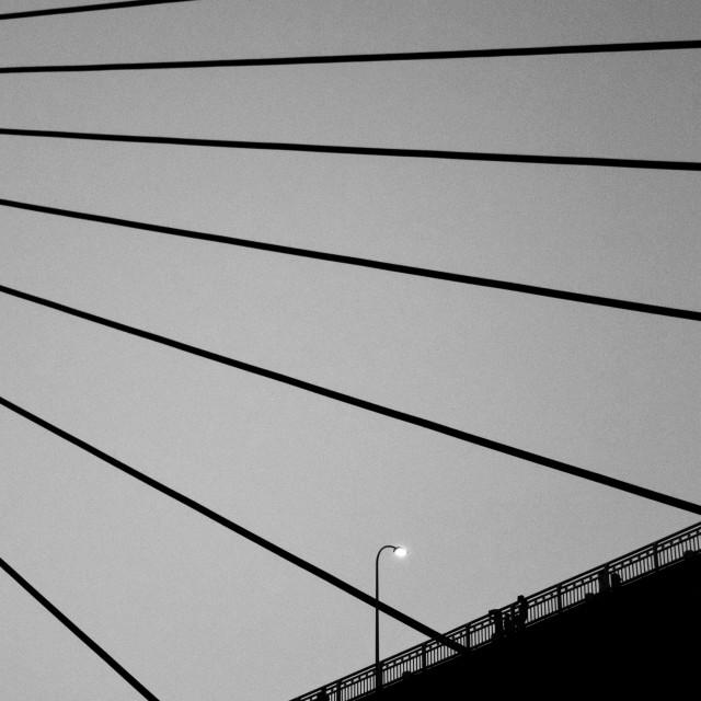 """Qiansimen Bridge"" stock image"