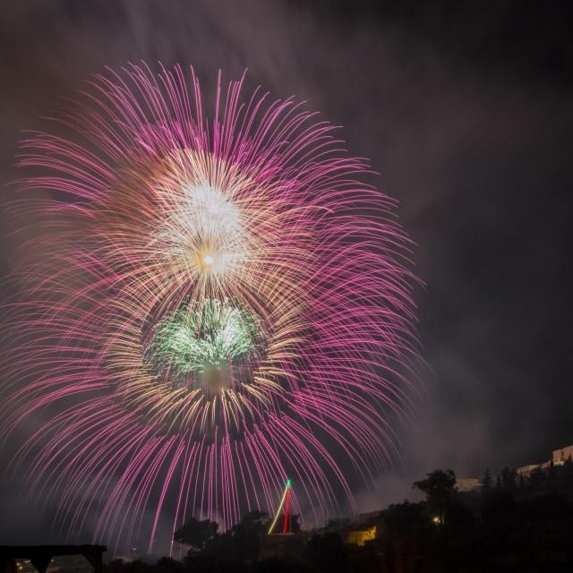 """Fireworks4"" stock image"