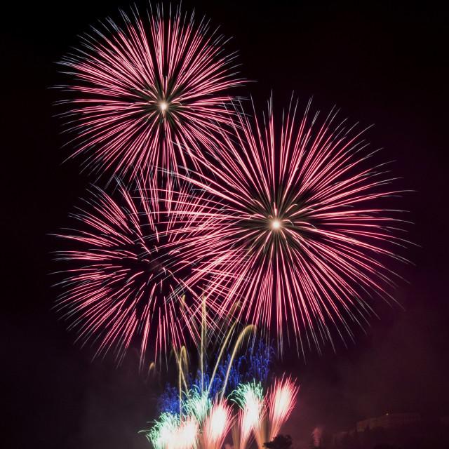 """Fireworks12"" stock image"