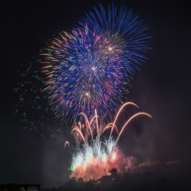 """Fireworks13"" stock image"