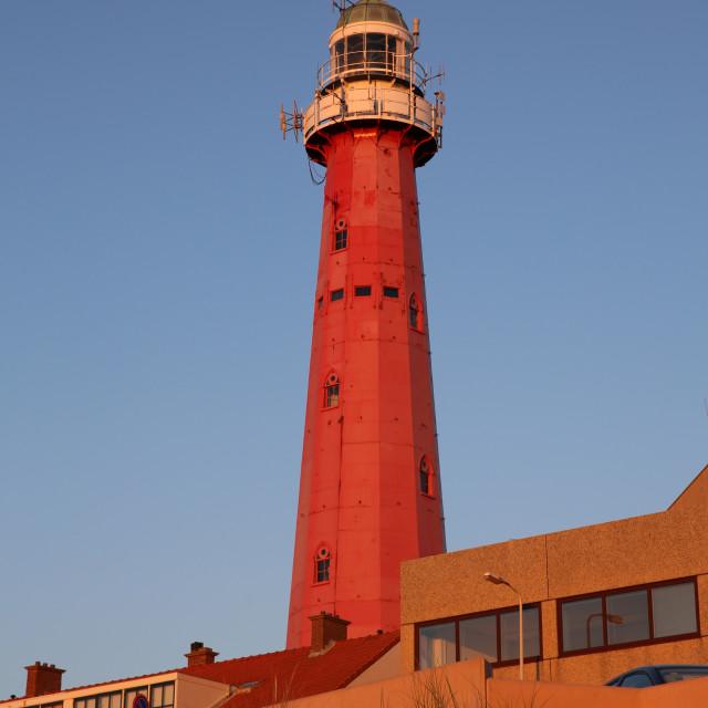 """Scheveningen Lighthouse"" stock image"
