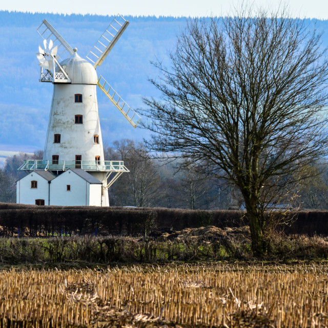 """The Windmill"" stock image"