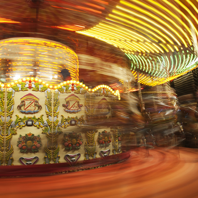 """The carousel"" stock image"