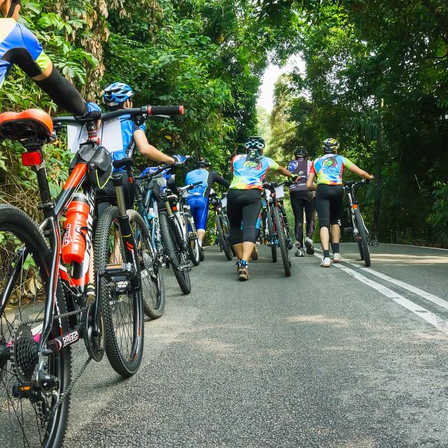 """mountain bike race"" stock image"