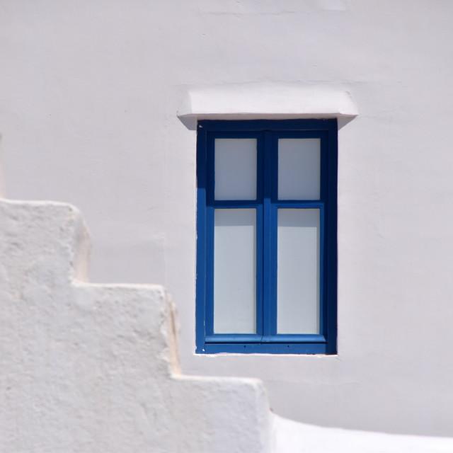 """Blue Window"" stock image"