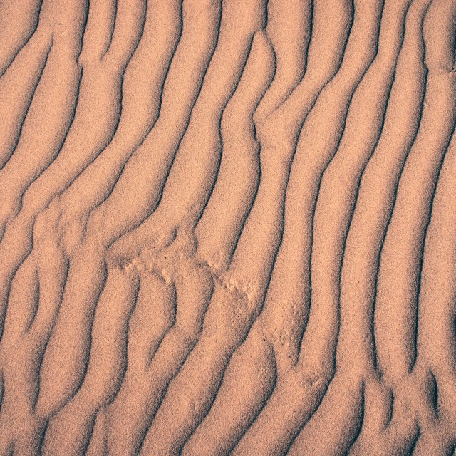 """Ripples in the sand"" stock image"