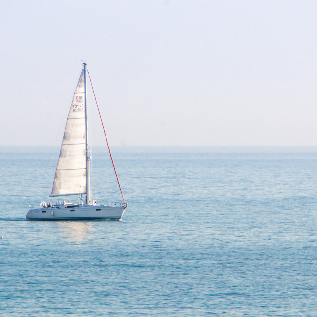 """Sail Away"" stock image"