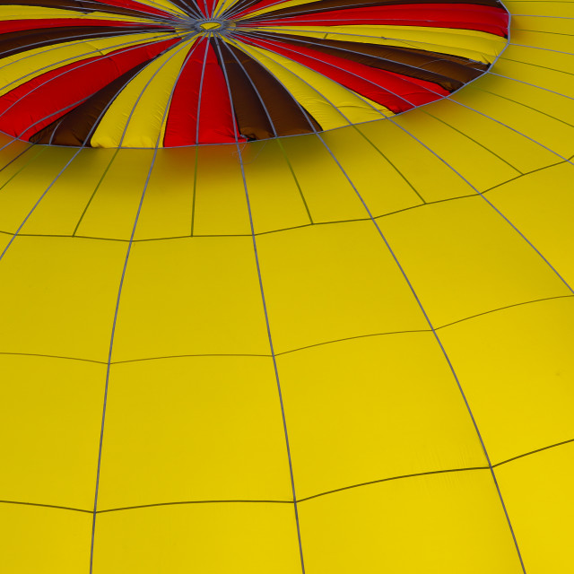 """Yellow Balloon"" stock image"
