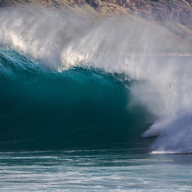 """Big surf"" stock image"