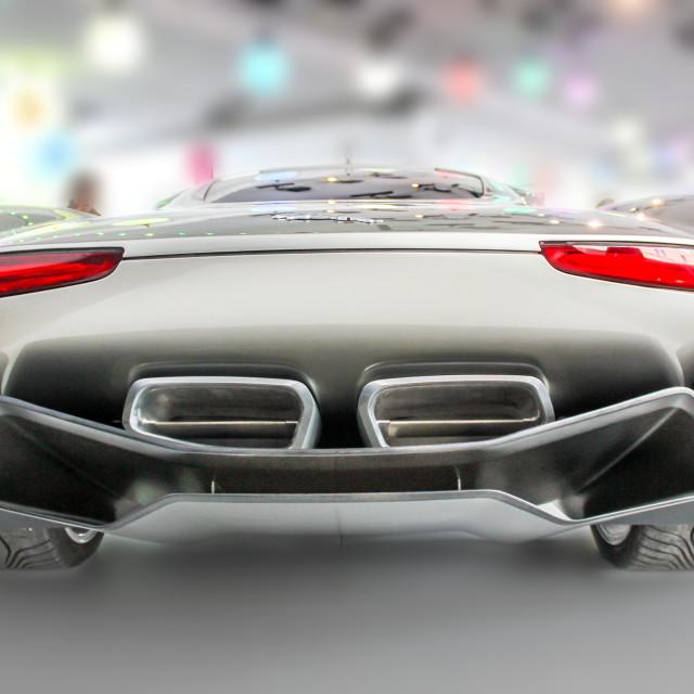 """Jaguar C X75"" stock image"