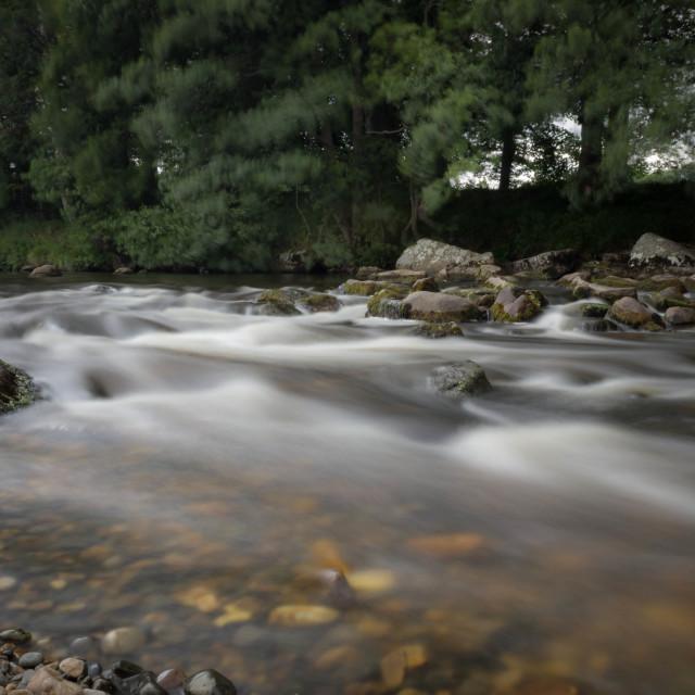 """The River Deveron"" stock image"