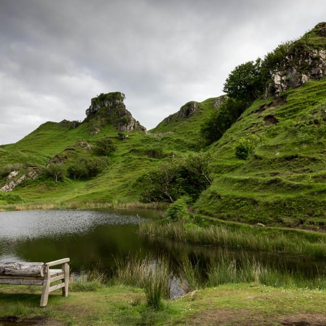 """""""Ewen's Castle"""" stock image"""