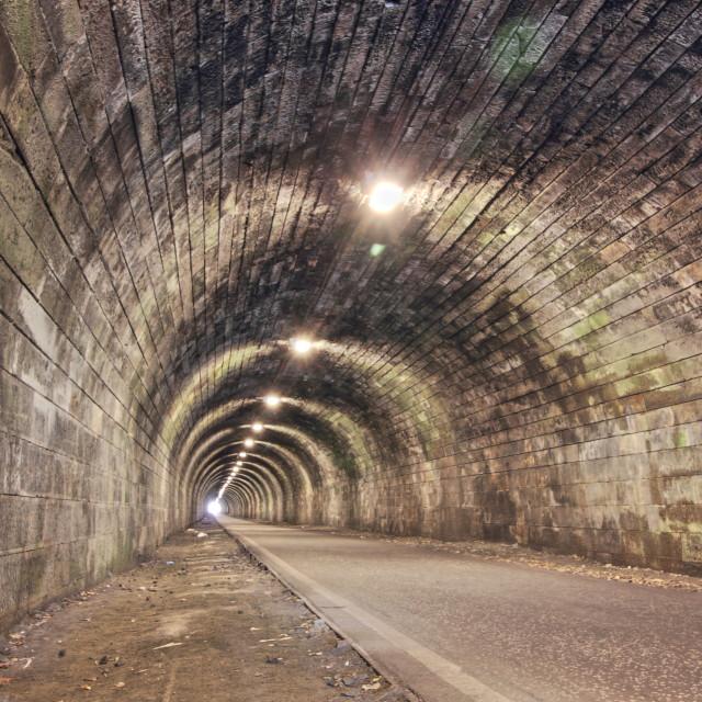"""The Innocent Railway"" stock image"
