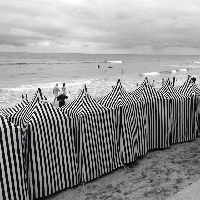 """Beach time"" stock image"