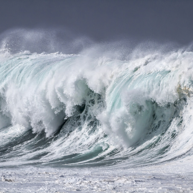 """Giant Ocean Wave"" stock image"