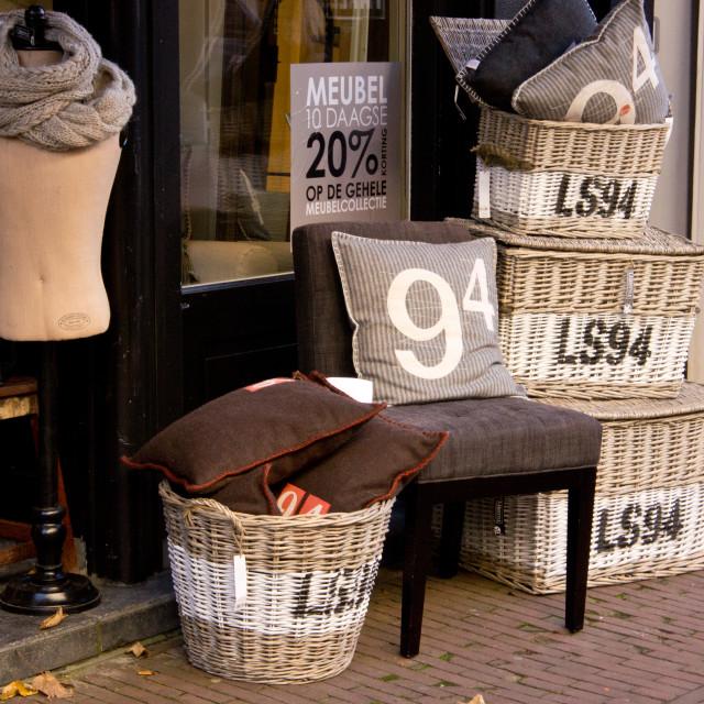 """Shop goods"" stock image"