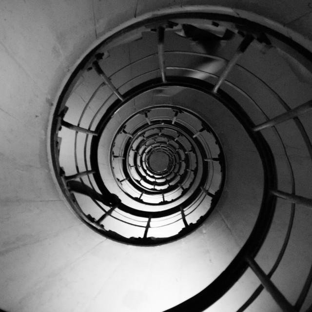 """Spiral Stairs"" stock image"