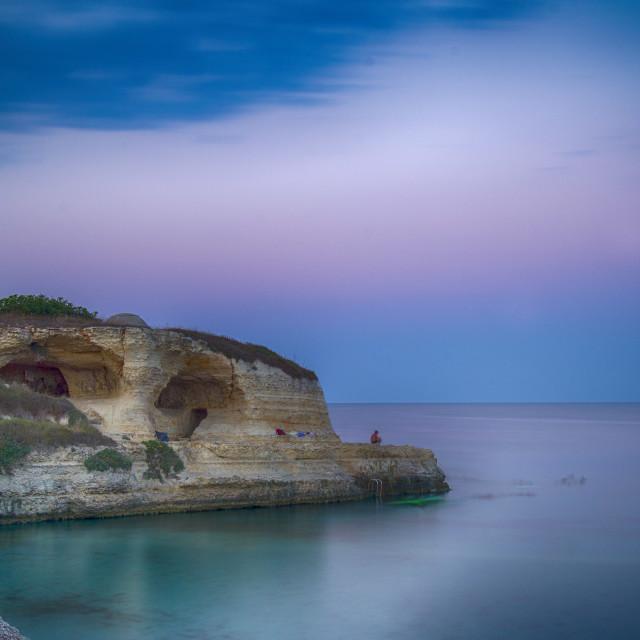 """San Andrea Coast"" stock image"