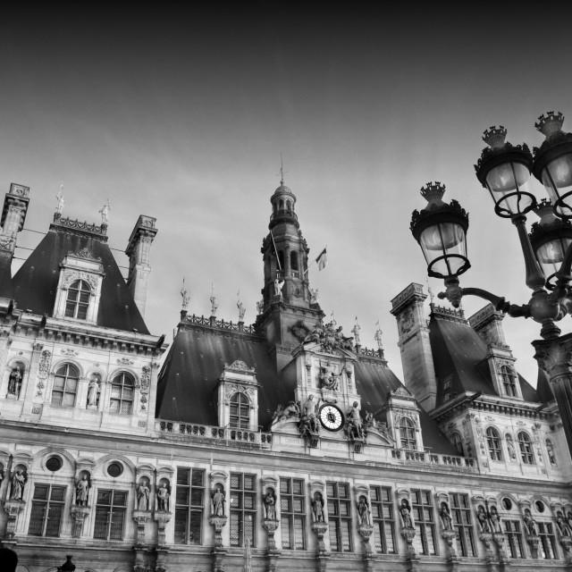 """""""Paris City Hall"""" stock image"""