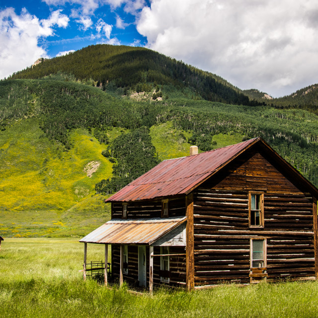 """Cold springs homestead"" stock image"